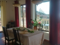Villa Sunshine Dining room with access to pool terrace