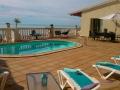 Villa Sunshine terrace with view
